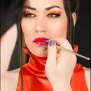 Ombre lip application