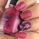 """China Glaze """"I love your Guts"""" and Stamping"""