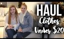 HAUL: Cute Clothes Under $20