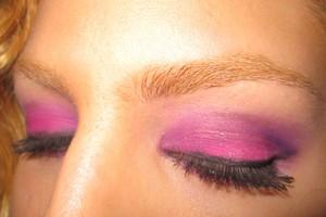 sugarpill shadows in tako, poison plum & dollipop...mally ginormous mascara & waterproof line