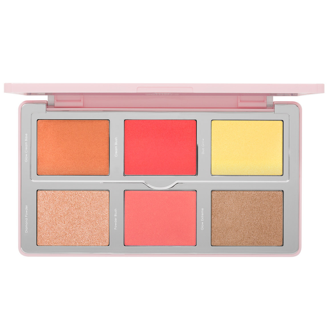 Natasha Denona Diamond & Blush Palette 02 Citrus alternative view 1 - product swatch.