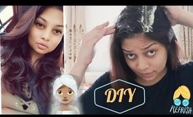 DIY HAIR MASK FOR TANGLE FREE AND VOLUMINOUS HAIR