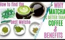 HOW TO FIND THE BEST MATCHA and why matcha is better than coffee