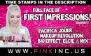 Full Face of Firsts!! Pacifica, Makeup Revolution, Bio Effect, Elcie, Jouer, & NYX | Tanya Feifel