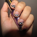 Easy Polka Dot Nails