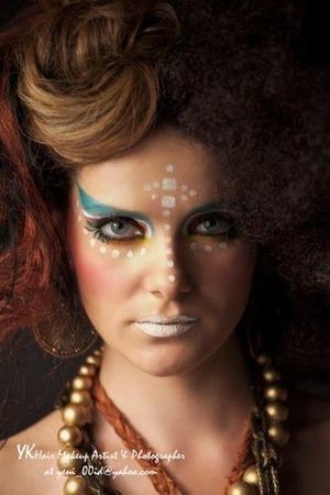Today makeup & photo work.
