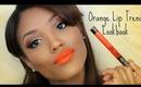 Spring Orange Lip Trend Lookbook