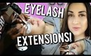 Getting Eyelash Extensions For The First Time!