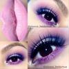 Pink and purple eyeshadow