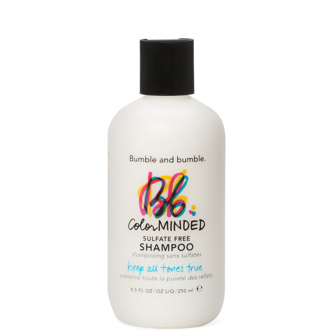 Bumble and bumble. Color Minded Shampoo product smear.