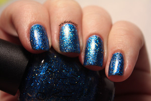 Hard To Find OPI Glitter from Alice In Wonderland Collection, three coats alone