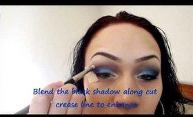 "Copy of ""The Blues"" Eye Makeup Tutorial"