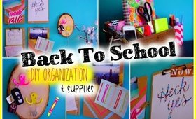 Back to School: DIY Organization & Supplies