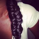 My fishtail braid