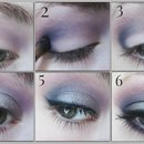 Evening Makeup: Purple Smoke (Pictorial)