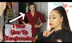 1 Hour Glow Up Transformation | Holiday Party Look | Vlogmas Day 8 [2019]
