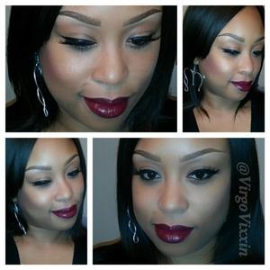 wet n wild cherry bomb lipstick with nightmoth lip liner