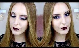 Dark Purple Vampy Look | Ashley Engles