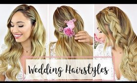 3 Wedding Hairstyles: DIY Ideas