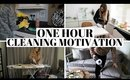 ONE HOUR CLEAN WITH ME UK | NEW YEAR CLEANING MOTIVATION 2020