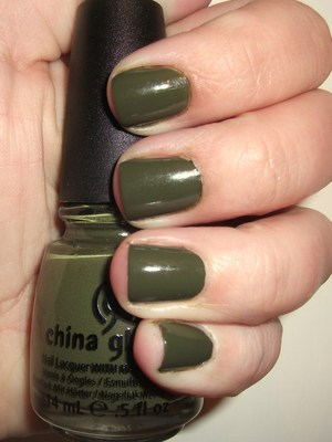 Westside Warrior- Love this army green!!!