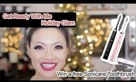 Get Ready With Me Holiday Look + WIN $1,000 in Gifts | Philips Sonicare Contest