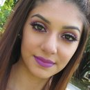 Purple makeup!