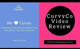 CurvyCo Review -The Plus Size Poshmark?!