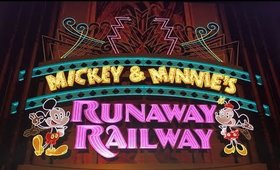 Mickey and Minnie's Runaway Railway Ride at Hollywood Studios