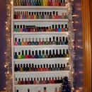 Christmassy Nail Polish Rack