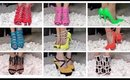 High heel shoe collection from Ami clubwear.