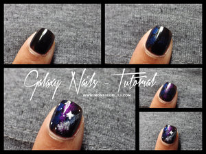 A simple tuto to know how to achieve these galaxy nails using a makeup sponge and some vibrant lacquers !  More pics of my mani' at http://www.monsieurlili.com Don't be afraid to take a look, I would really appreciate !