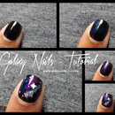 Galaxy Nails : Tuto