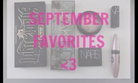 September Favorites | AshleySueMakeup