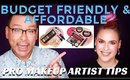 Budget Friendly And Affordable Makeup For Your Kit | mathias4makeup