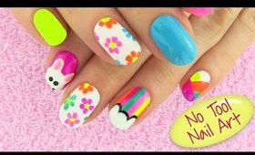 DIY Nail Art Without any Tools! 5 Nail Art Designs - DIY Projects