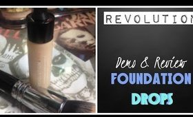 REVOLUTON WEEK - Foundation Drops Demo & Review F1,F2,F3
