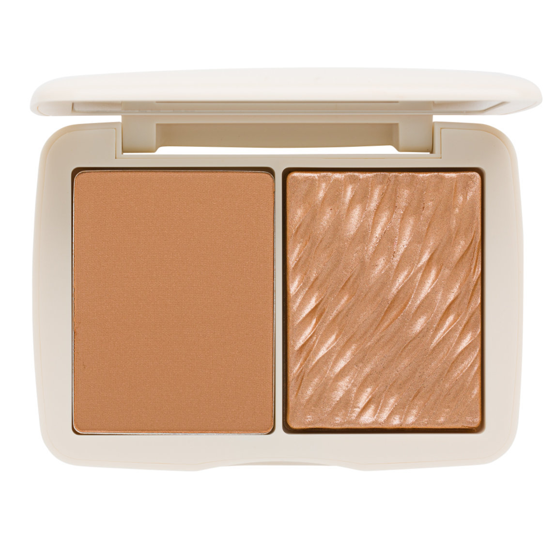 COVER | FX Monochromatic Bronzer Duo Sunkissed Bronze product smear.