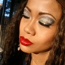 Silver Glittery Eyes