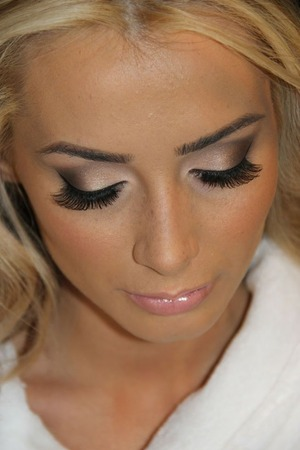 Wedding Makeup Tutorial For Blondes : Bridal Makeup To Emphasize Green Eyes. Beautylish