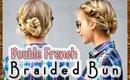 Holiday Hair Tutorial | Double French Braided Bun