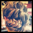 Cornucopia Braid...by Calista Brides Hair & Makeup Artistry