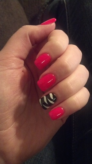 just got my nails done and im feeling so good