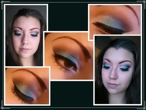 I love the colors in this look!