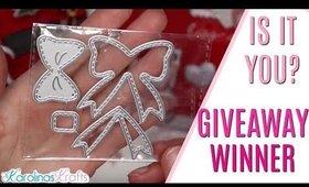 IS IT YOU? Giveaway winner!