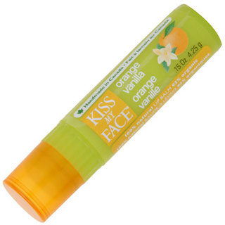 Kiss My Face Orange Vanilla Lip Balm - Non SPF