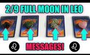 🔮 2/9 FULL MOON MESSAGES FOR YOU! 🔮 WEEKLY PICK A CARD READNG 🌕