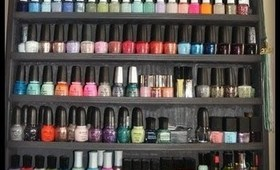 Nail Polish Collection & Storage!