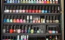 Nail Polish Collection & Storage!