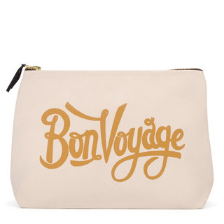 Bon Voyage Natural Wash Bag